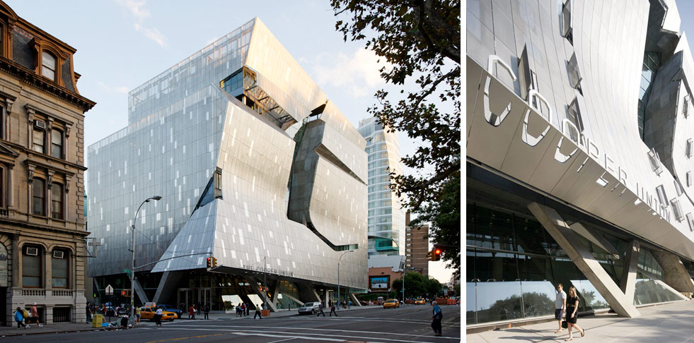 The Cooper Union. Designed by Pentagram / @enviromeant.com