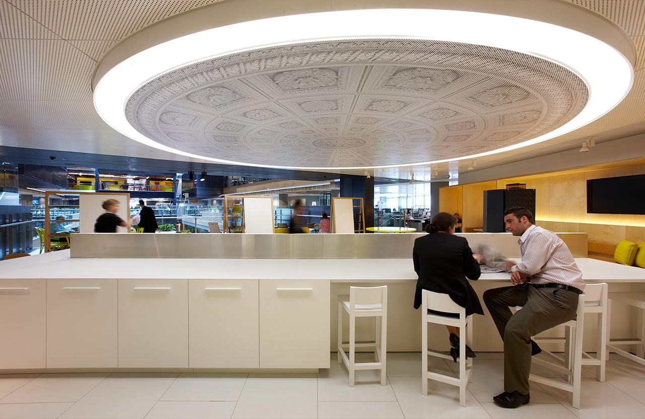 ANZ Centre. Designed by Fabio Ongarato Design / @enviromeant.com