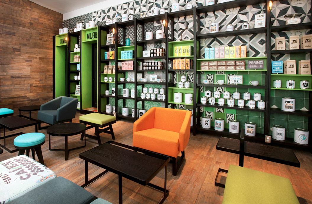 Cielito Querido Café. Designed by Esrawe. @enviromeant.com
