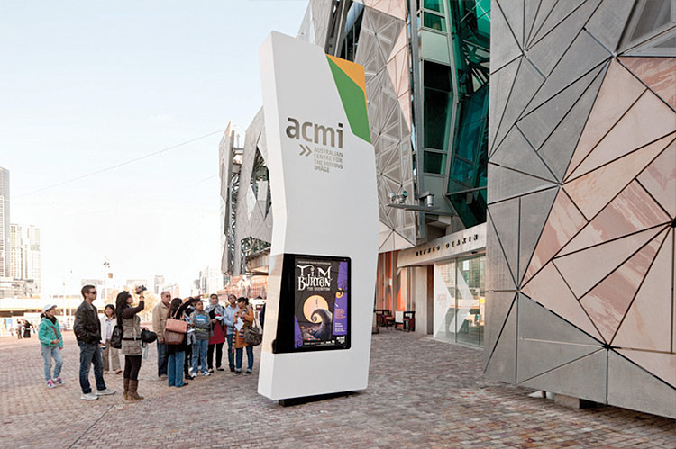 ACMI Signage. Designed by Büro North / @enviromeant.com