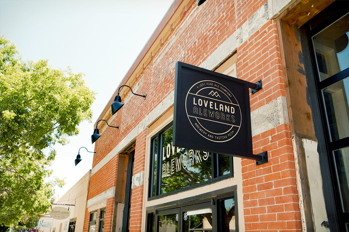 Loveland Aleworks. Designed by Manual @enviromeant.com