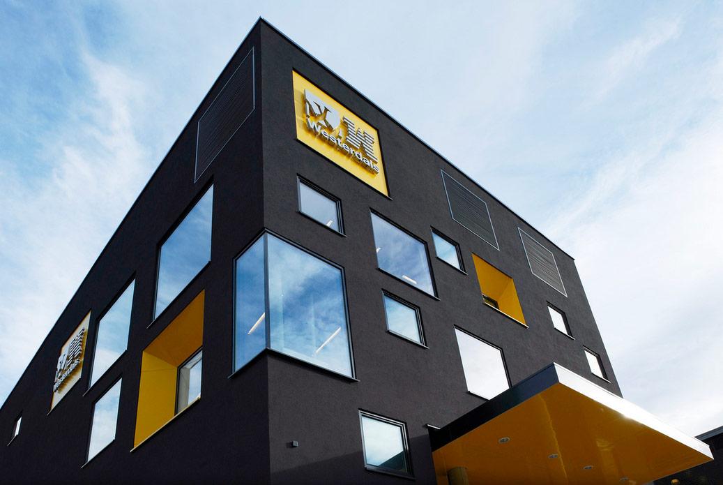 Wayfinding Westerdals. Designed by Marius Holtmon & KJARK. @enviromeant.com