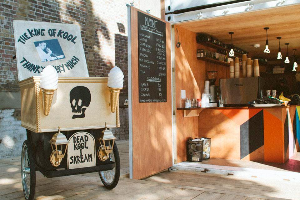 The Movement Café. Designed by Morag Myerscough @enviromeant.com