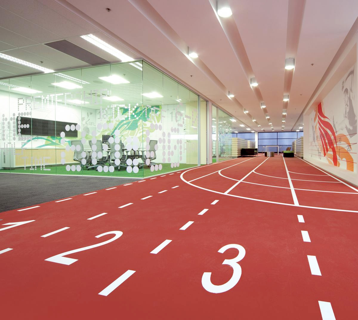 Australian HQ, Asics. Designed by There. @enviromeant.com