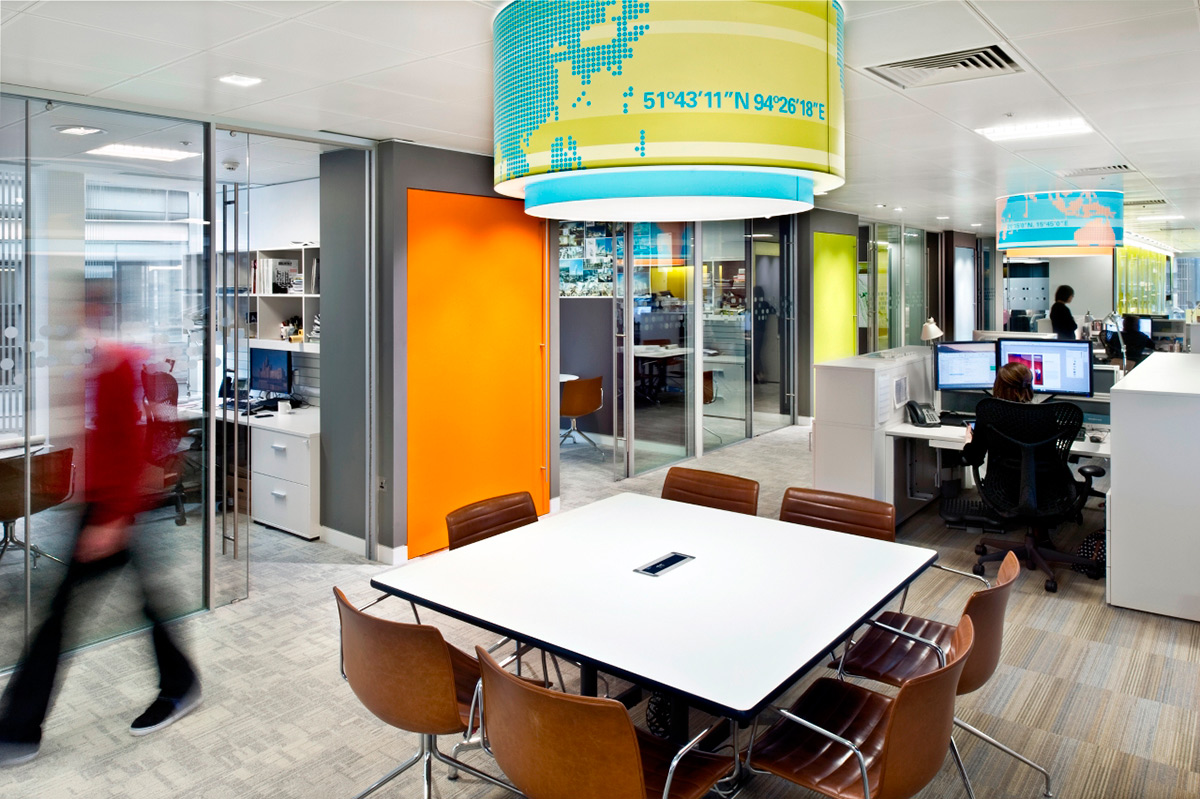 RTKL London Office. Designed by RTLK. @enviromeant.com