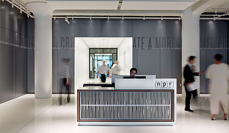 NPR Headquarters. Designed by Poulin + Morris / www.enviromeant.com
