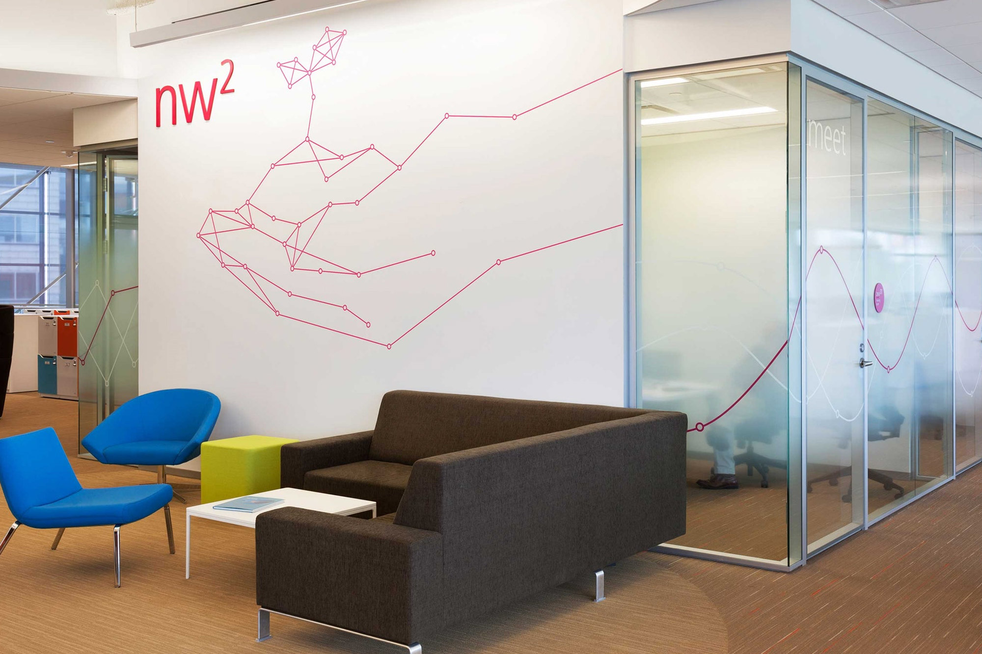 GlaxoSmithKline US HQ. Designed by Pentagram @enviromeant.com
