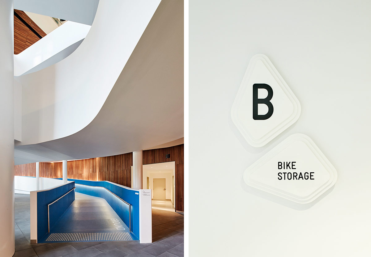 MEDIBANK HQ 720 BOURKE ST. Designed by Fabio Ongarato Design / @enviromeant.com