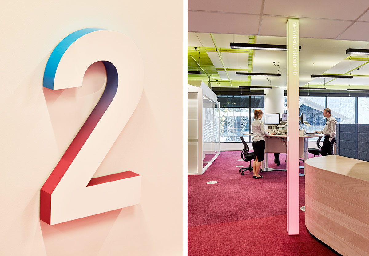 MEDIBANK HQ 720 BOURKE ST. Designed by Fabio Ongarato Design / @enviromeant.com