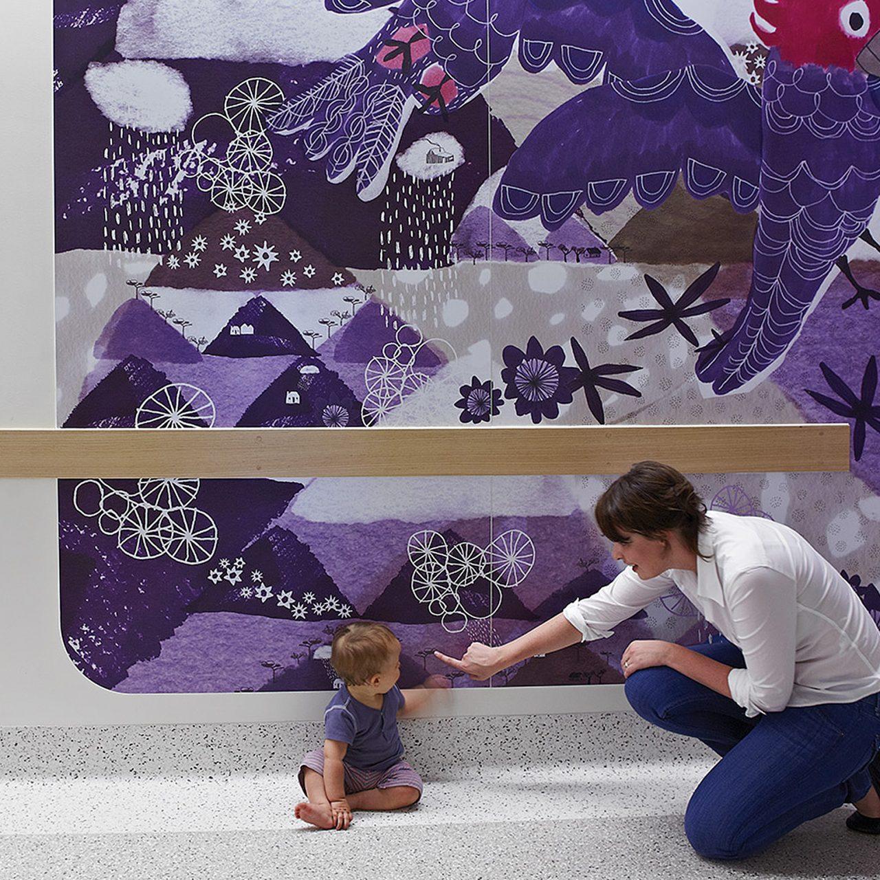 Supergraphics for Royal Children's Hospital
