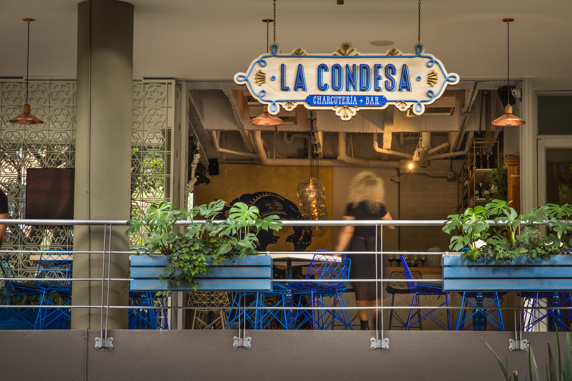 Interior Design for La Condesa. Designed by Plasma Nodo @enviromeant.com