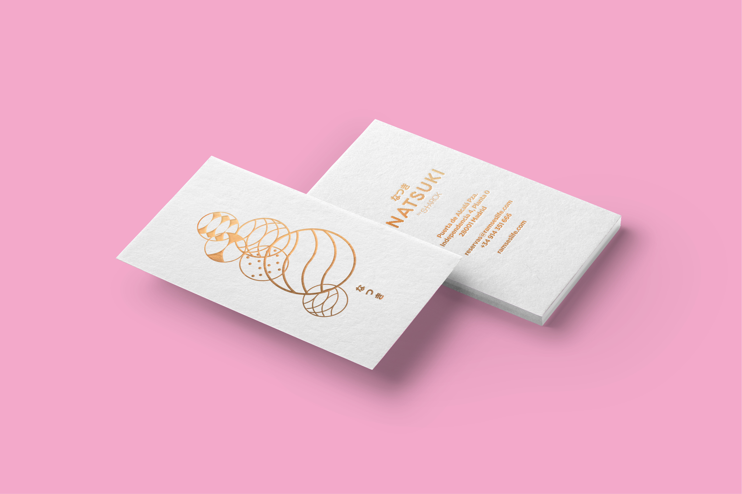 Business Cards for Natsuki / Designed in Madrid by Erretres @enviromeant.com