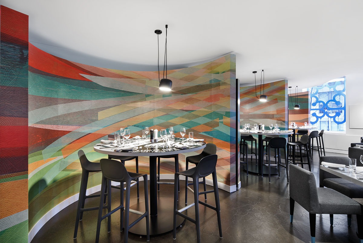 W Montreal's new restaurant / Designed by Sid Lee Architecture @enviromeant.com