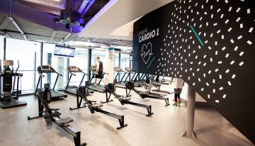 Wayfinding system for Cityfit Gym