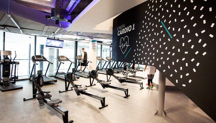 Wayfinding system for Cityfit Gym