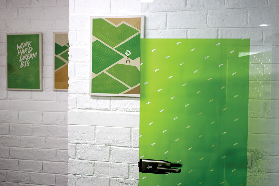 Environmental Graphics for Talentica / Designed by Leaf Design @enviromeant