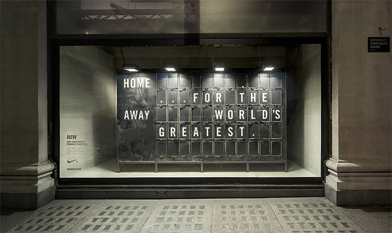 ...,Staat interactive window display for Nike @enviromeant