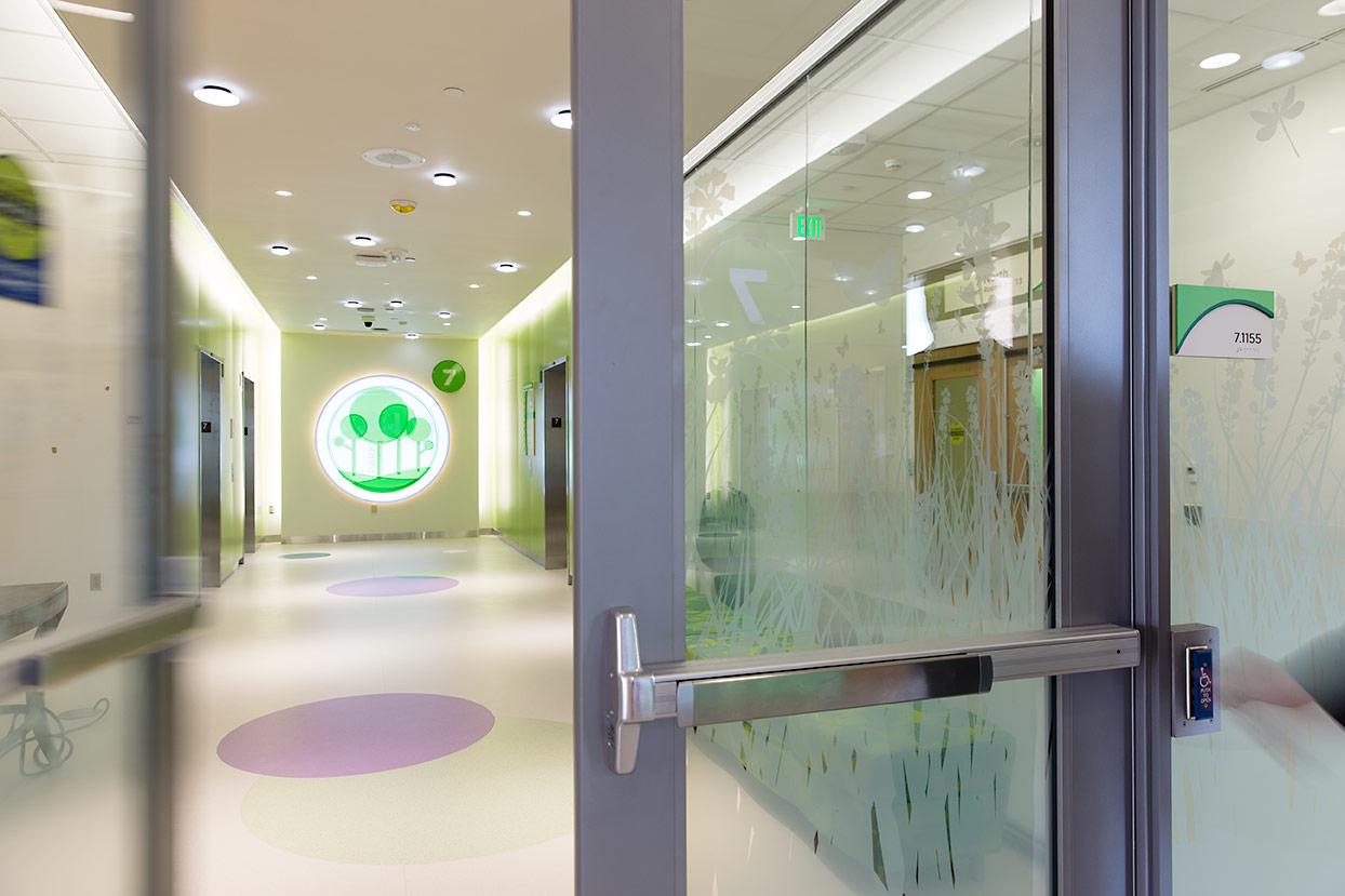 Golisano Children's Hospital designed by ArtHouse Design @enviromeant