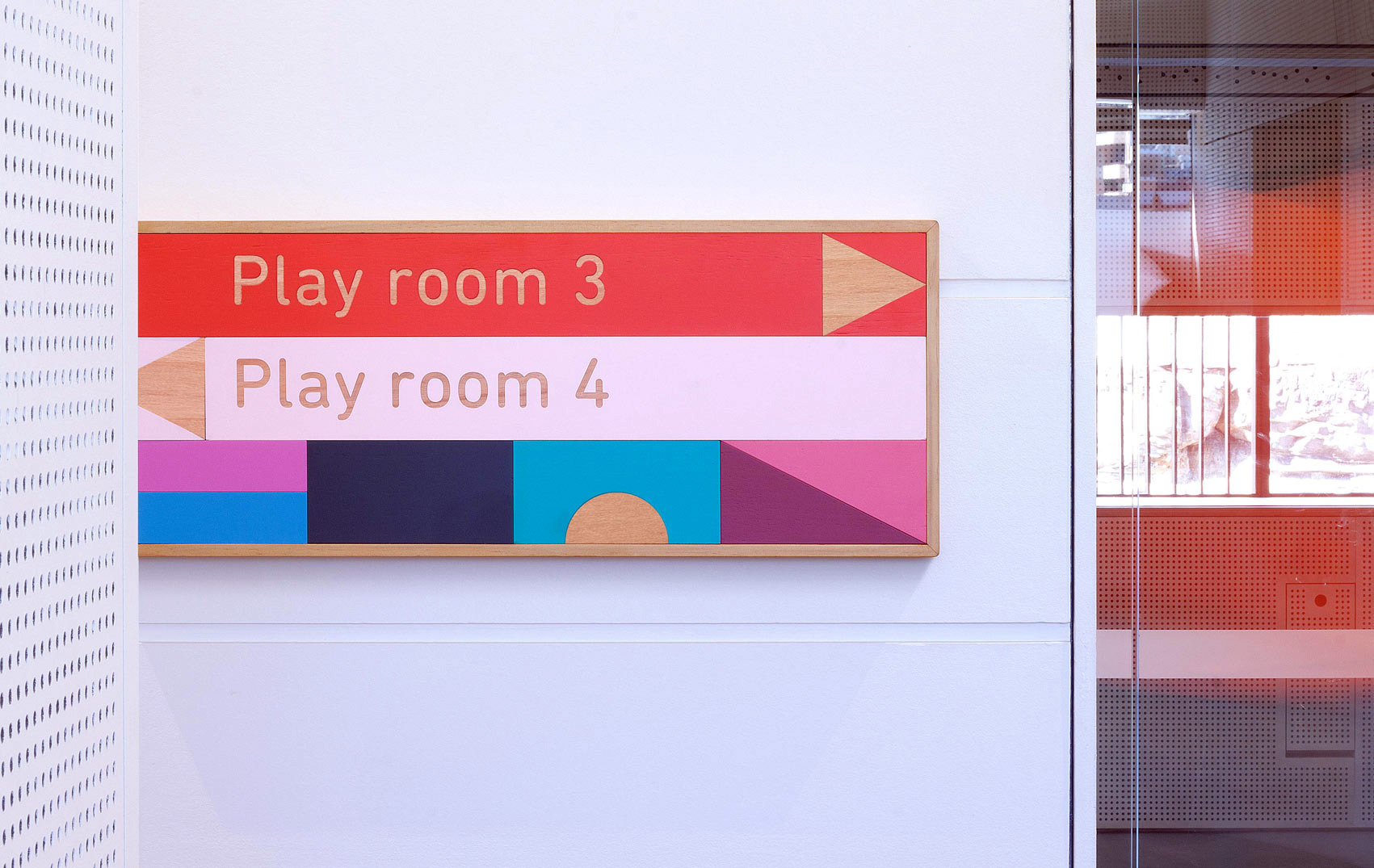 Signage System for East Sydney Early Learning Centre. Designed by Toko and ABA Architects @enviromeant