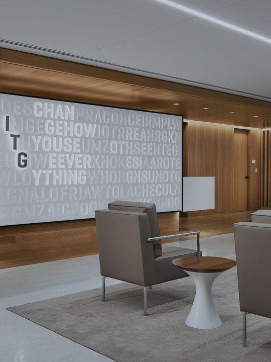 Interior Design for ITG designed by Landor