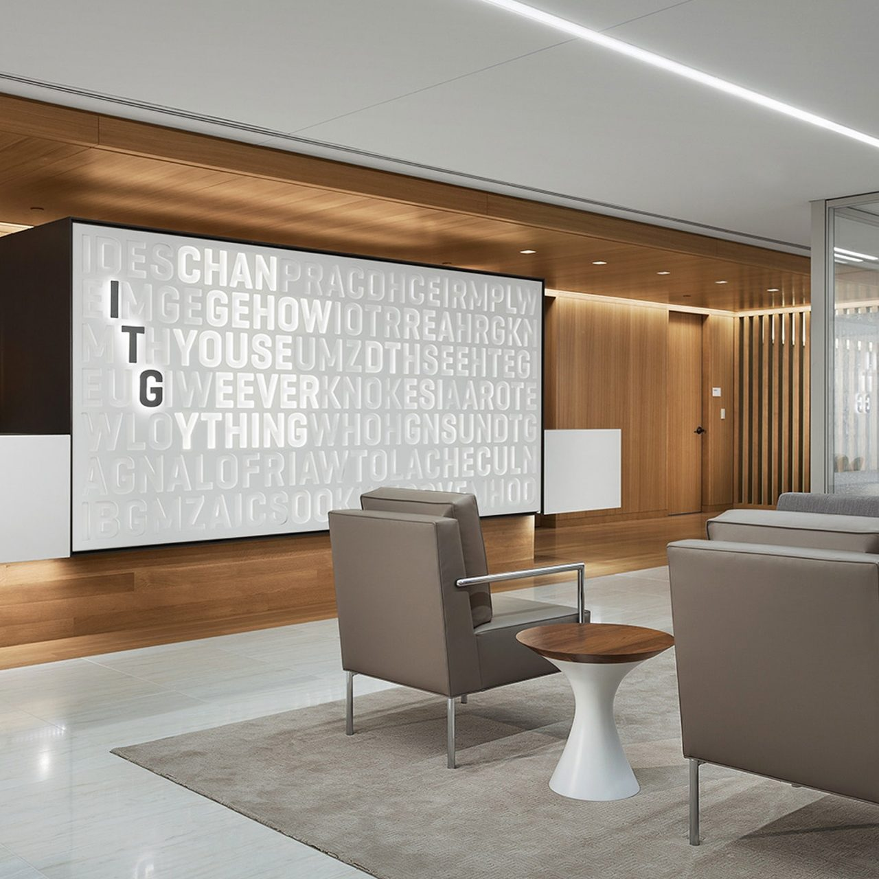 Interior Design for ITG designed by Landor