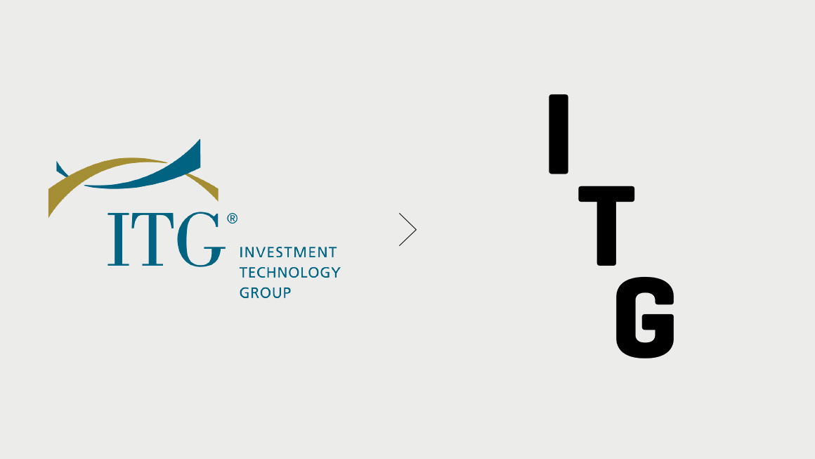 Rebranding of logotype for ITG. Designed by Landor @enviromeant