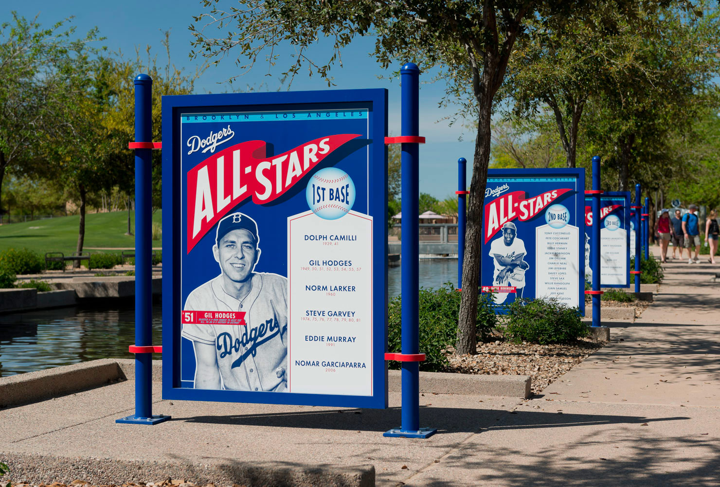 Camelback Ranch / Dodger's Spring Training facility. Designed by Younts Design Inc. @enviromean