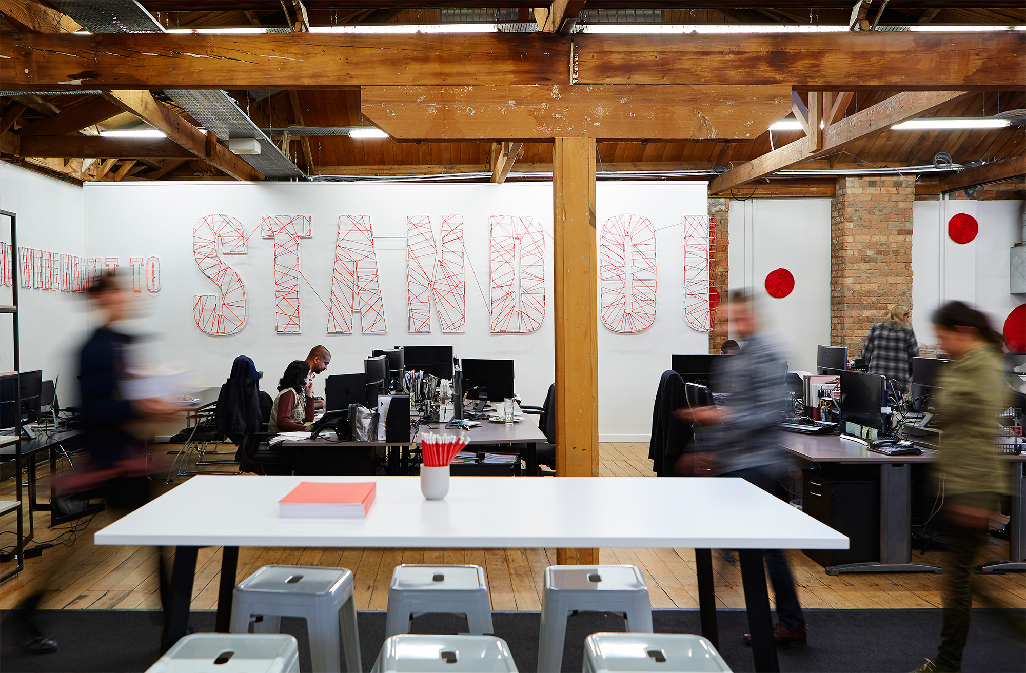 Office space for Ogilvy & Mather New Zealand HQ. @enviromeant.com