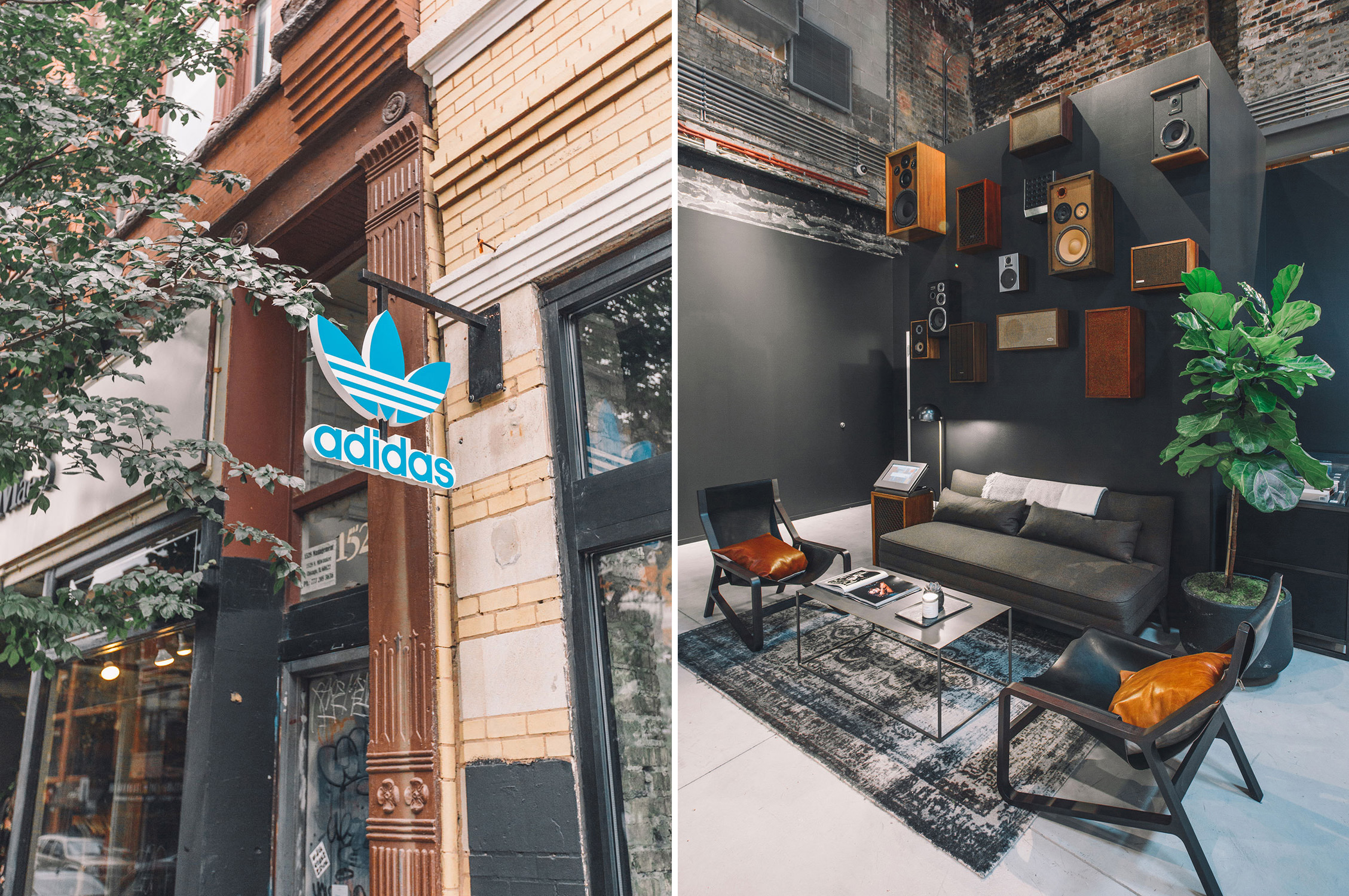 Adidas flagship store in Chicago. Designed by Latitude @enviromeant