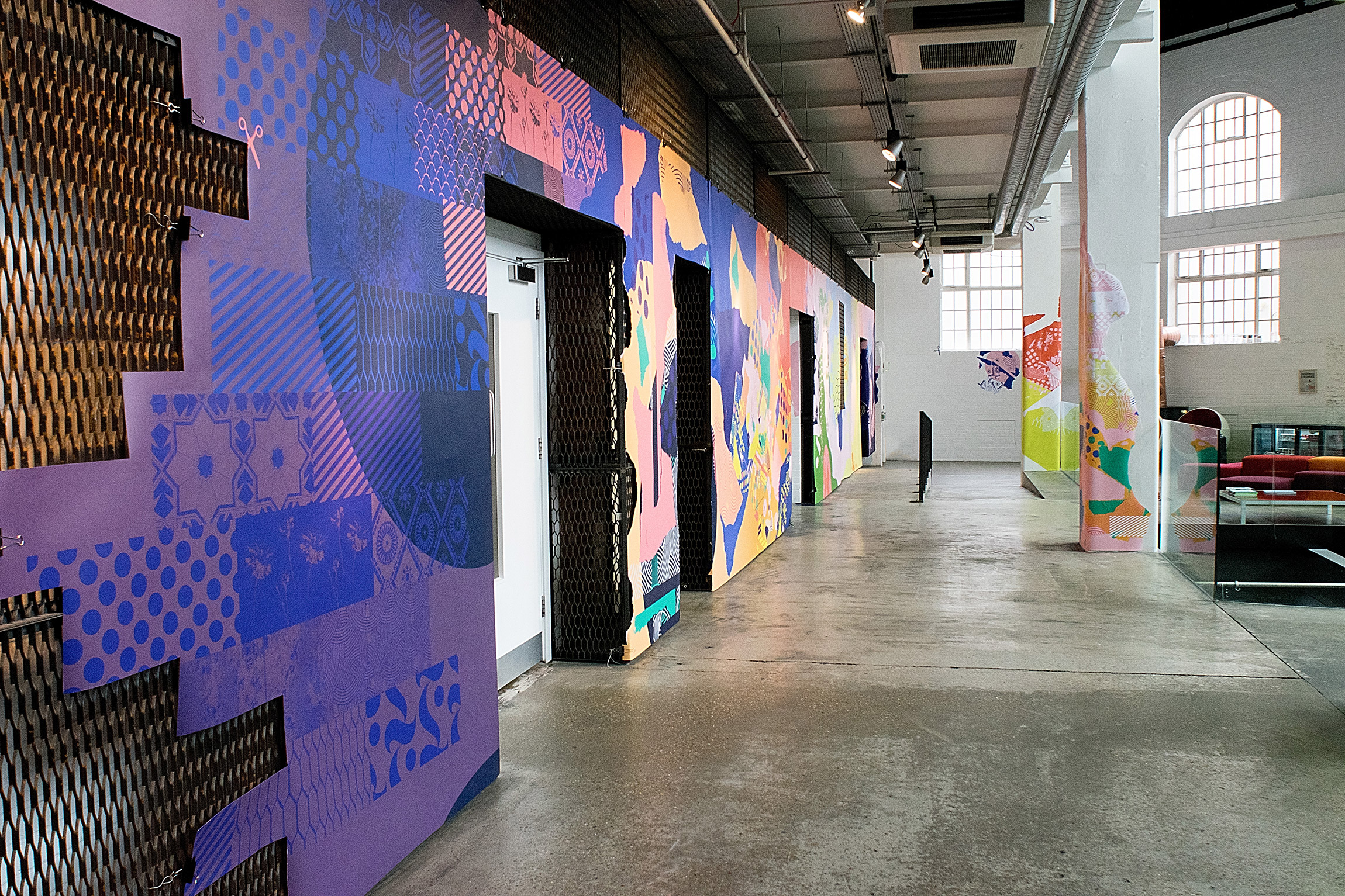 Across the Dotted Line. Experiential graphics by Joel Derksen. @enviromeant.com