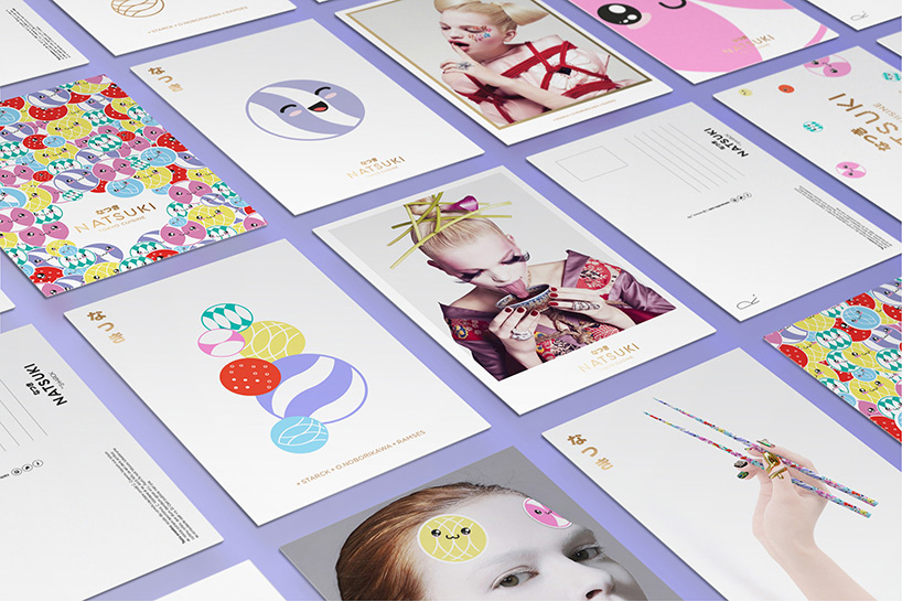 Postcards for Natsuki / Designed in Madrid by Erretres @enviromeant.com